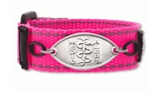 Kids Ka Pow Pink Band with Petite Emblem - Large