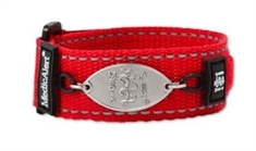 Adult Cherry Red Band with Petite Emblem - Large