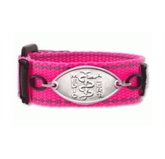 Kids Ka Pow Pink Band with Petite Emblem - Small