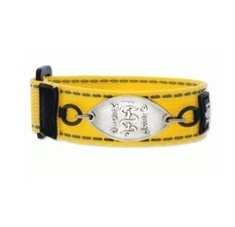 Kids Bam Yellow Band with Petite Emblem - Small