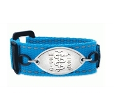 Kids Wham Blue Band with Petite Emblem - Small