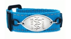 Kids Wham Blue Band with Petite Emblem - Large