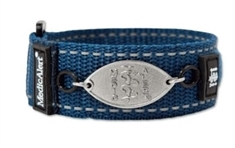 Kids Navy Blue Band with Petite Emblem - Large
