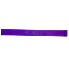 Purple Silicone Band Only - Medium